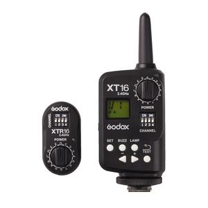 ワイヤレスフラッシュトリガーGODOX XT16日本正規版を発売します