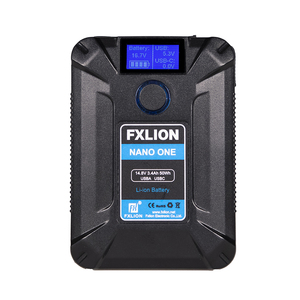 FXLION NANO ONE Vマウントモバイルバッテリー発売開始