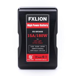 撮影機材/照明機材用バッテリー「FXLION」